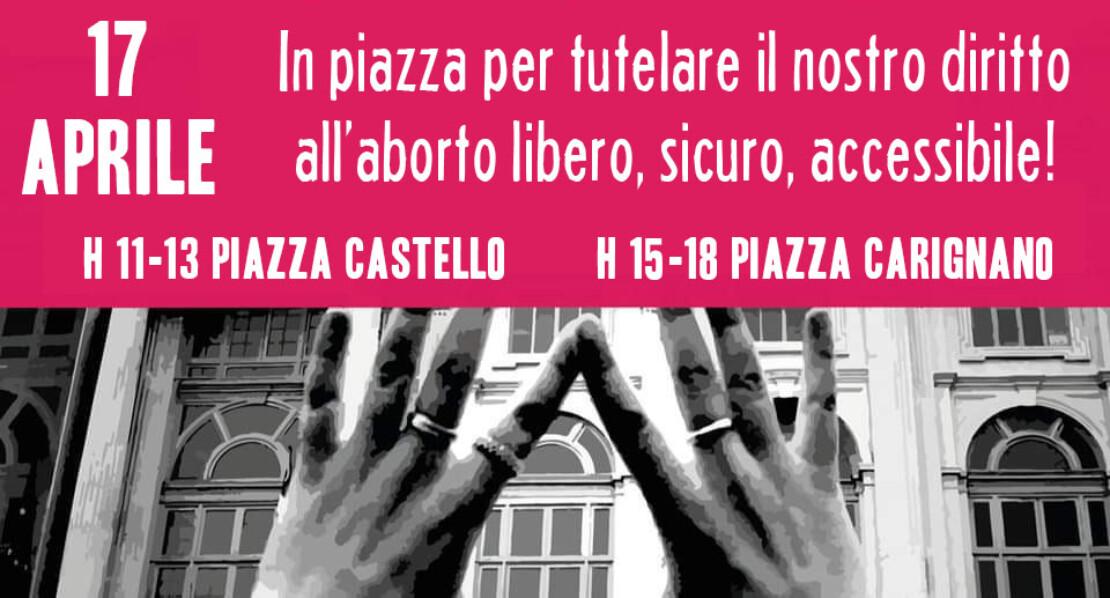 """17 aprile 2021- La Casa Internazionale delle Donne aderisce alla mobilitazione di """"Non Una di Meno-Torino"""" e """"più di 194 voci"""""""