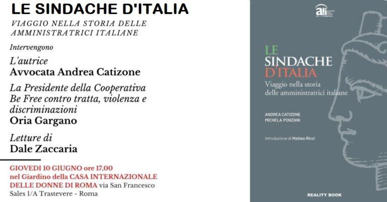 """""""Le  Sindache d'Italia"""" di Andrea Catizone e Michela Ponzani"""