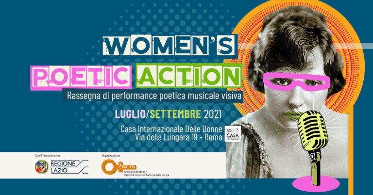"""WOMEN'S POETIC ACTION"""