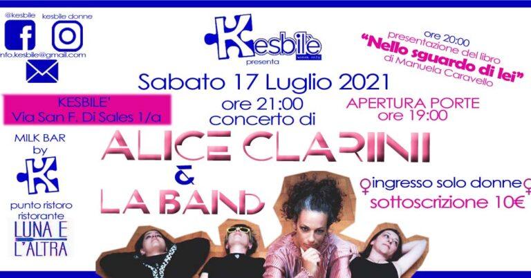 """Kesbilè: """"Alice Clarini e LA Band"""""""