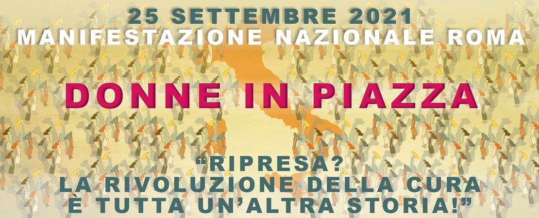 25 Settembre. Donne in piazza.