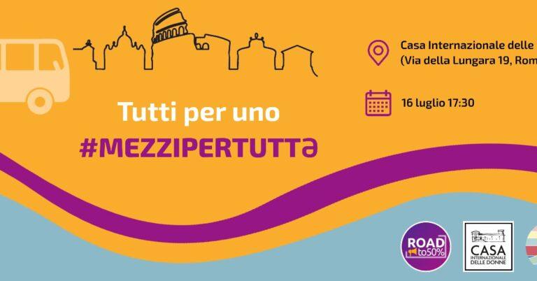"""""""Tutti per uno #mezzi per tuttə"""""""
